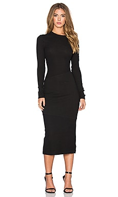 Cheap Monday Repeal Dress in Black