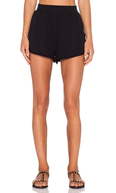 Cheap Monday Trash Shorts in Black