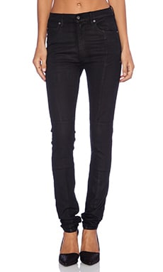 Cheap Monday Second Skin Jean in Piston Black