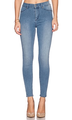 Cheap Monday Spray On High Rise Skinny in Light Blue