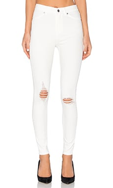 Cheap Monday High Spray Skinny in White Repair