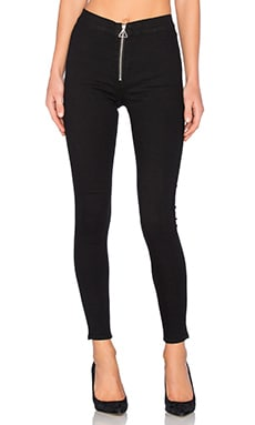 Cheap Monday High Spray Skinny in Front Black