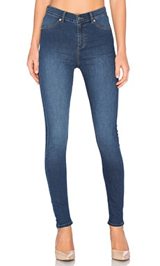 Cheap Monday High Spray Skinny in Dim Blue