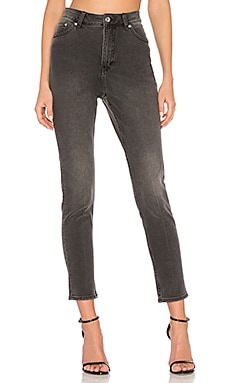Donna High Waist Jean in Bold Black