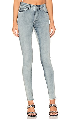 JEANS SKINNY HIGH SNAP