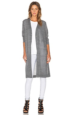 Cheap Monday Slouch Cardigan in Heavy Grey Melange