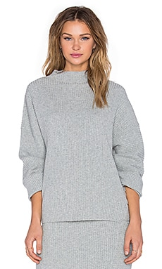 Cheap Monday Rival Sweater in Grey Melange