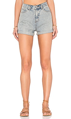 Cheap Monday Donna Short in Jet Blue