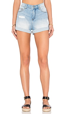 Cheap Monday Donna Short in Air Blue