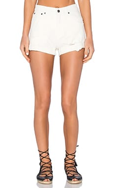 Cheap Monday Donna Short in White Repair