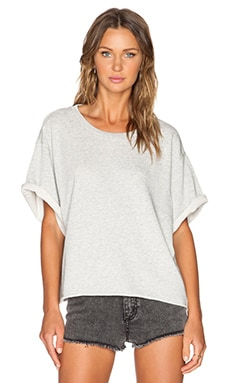 Cheap Monday Want Sweatshirt in Light Grey Melange