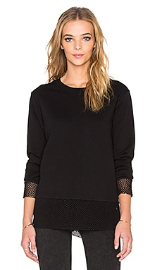 Cheap Monday Net Sweatshirt in Black