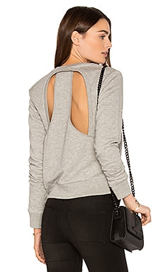 Swift Sweatshirt en Gris Chiné