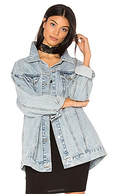 Джинсовая куртка upsize - Cheap Monday