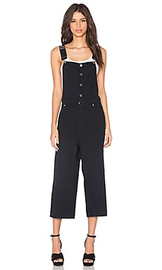 Cheap Monday Later Dungaree Jumpsuit in Dawn Black