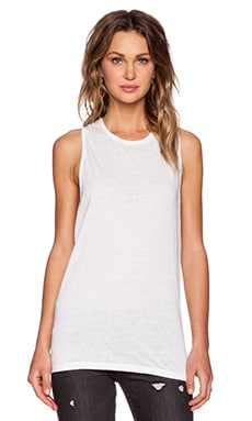 Cheap Monday Flow Tank in White
