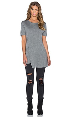 Cheap Monday Lay Top en Gris Chiné