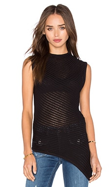 Cheap Monday Beta Sleeveless Tank in Black