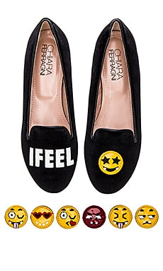 Chiara Ferragni I Feel Flat in Black