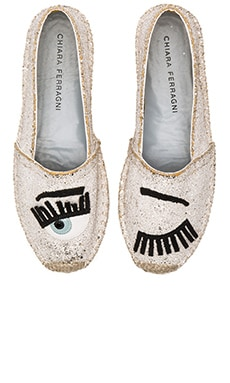Espadrille in Platinum