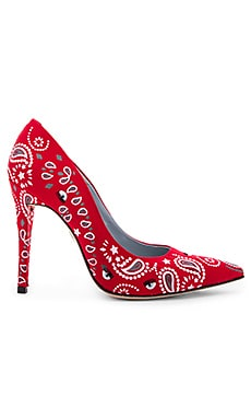 Bandana Heel in Red