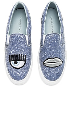 Glitter Slip On Sneaker Chiara Ferragni $168