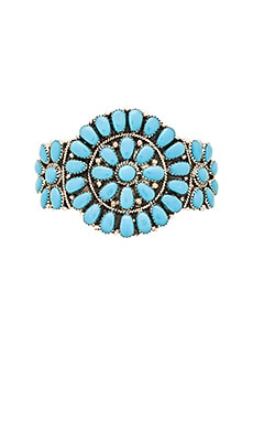 Child of Wild Summer Highs Native American Cuff in Turquoise