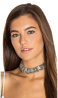Dazed Choker in Silver