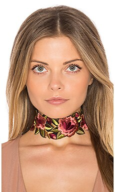 Camilla Floral Choker
