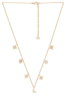 COLLAR CELESTIAL STARS AND MOONS Child of Wild $68