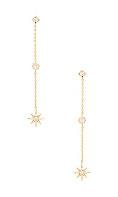 x REVOLVE Starburst Dangle Earrings Child of Wild $48 BEST SELLER