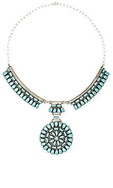 Child of Wild Desert Dweller Necklace in Turquoise