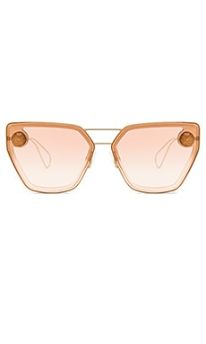LUNETTES DE SOLEIL ANGLED CAT EYE METAL Christopher Kane $184