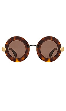 LUNETTES DE SOLEIL ROUND ACETATE AND METAL Christopher Kane $173