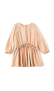 Kids Couture Crepe Stud Dress