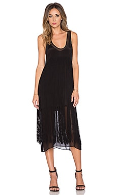 Chloe Oliver Long Fringe Hair, Don't Care Dress in Black