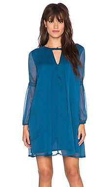 Chloe Oliver Babys Got Blues Dress in Slate Blue