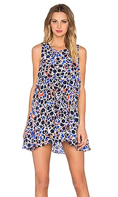 Chloe Oliver The Sun Ellipse Dress in Capri Print