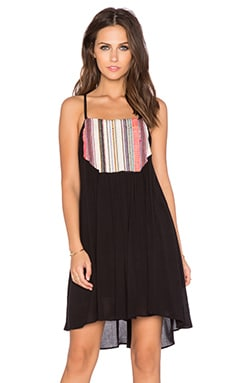 Chloe Oliver Summer Solstice Dress in Black & Multi