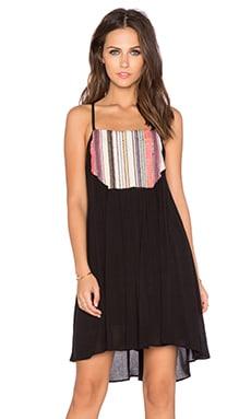 Chloe Oliver Summer Solstice Dress in Black & Multi