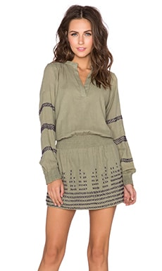 Chloe Oliver Spanish Harlem Dress in Olive