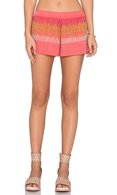 Chloe Oliver Swim in the Sea Play Short in Coral Ombre