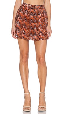 Chloe Oliver Swing Swing Mini Skirt in Phoenix Warm