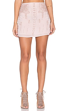 Chloe Oliver Majestic Skirt in Rose