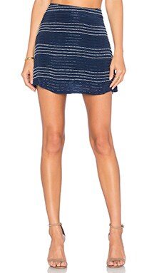 Chloe Oliver Americana Skirt in Navy