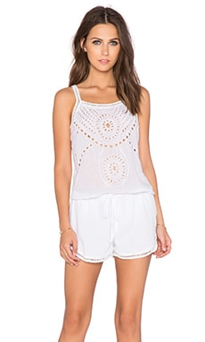 Chloe Oliver Total Beach Babe Romper in White