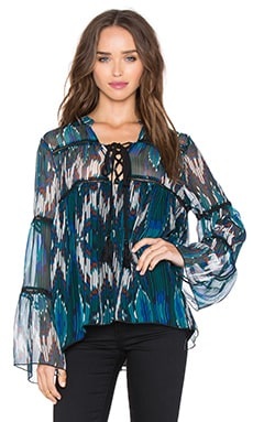 Living Legend Blouse in Mahalo