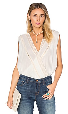 Sahara Top in Ivory