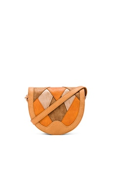 Circus by Sam Edelman Skye Crossbody in Brown Patchwork