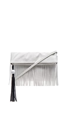 Finn Crossbody Bag in White & Black